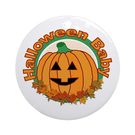 Halloween Baby Ornament (Round)