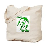 Crop Circle #3 Green Tote Bag