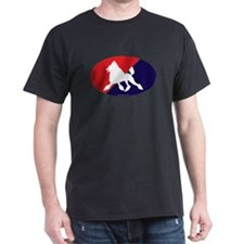 France Flag Poodle T-Shirt