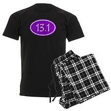 Purple 13.1 Oval Pajamas