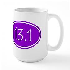 Purple 13.1 Oval Mugs