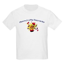 Mommy's Little Firecracker Kids T-Shirt