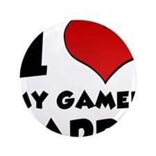 "I Heart My Gamer Daddy 3.5"" Button"