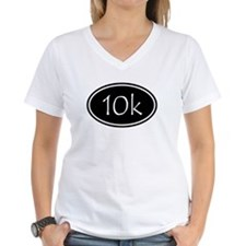 Black 10k Oval T-Shirt