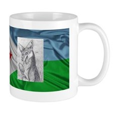Jackal from Djibouti Mug