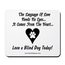 Language of Love Mousepad