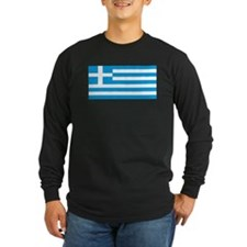 Greece Greek Blank Flag T