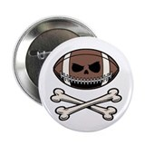 "Football Pirate 2.25"" Button (10 pack)"