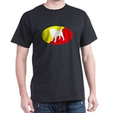 China Flag Pug T-Shirt
