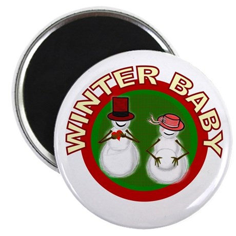 "Winter Baby Snowman 2.25"" Magnet (10 pack)"