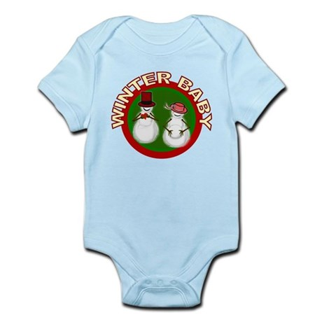 Winter Baby Snowman Infant Bodysuit