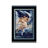 "Evelyn De Morgan ""Boreas and Orietyia"" Magnet"