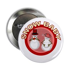 Snow Baby Button
