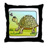 Sea Turtle #4 Throw Pillow