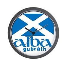 Long Live Alba! Wall Clock