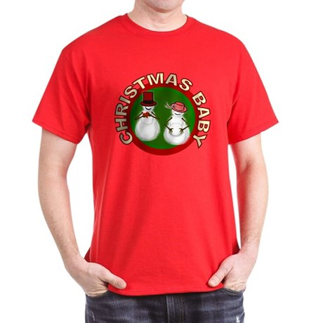 Christmas Baby Dark T-Shirt