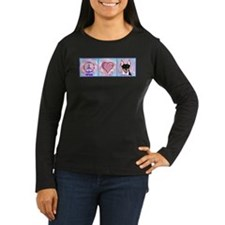 peace love rat terrier by m. french Long Sleeve T-