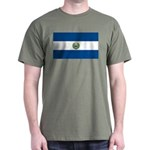 El Salvador Flag Dark T-Shirt