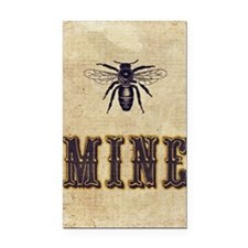 Be Mine Rectangle Car Magnet