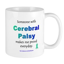 """Cerebral Palsy Pride"" Small Mugs"