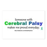 &quot;Cerebral Palsy Pride&quot; Postcards (Package of 8)