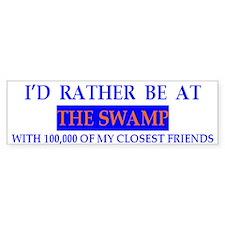 Florida University The Swamp Bumper Bumper Sticker