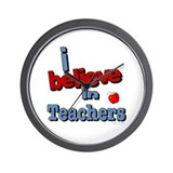 ... teachers Wall Clock