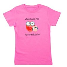Owl Grandkids Girl's Tee