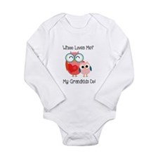 Owl Grandkids Long Sleeve Infant Bodysuit