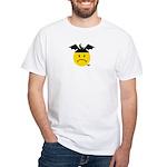 Moonbat White T-Shirt