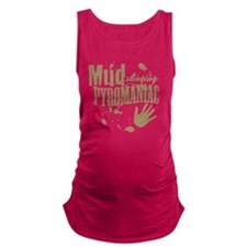 Mud Slinging Pyromaniac Maternity Tank Top