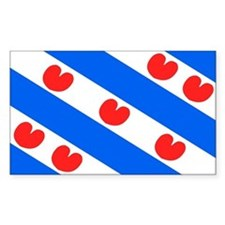 Friesland Rectangle Decal
