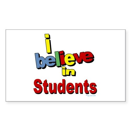... teachers Rectangle Sticker