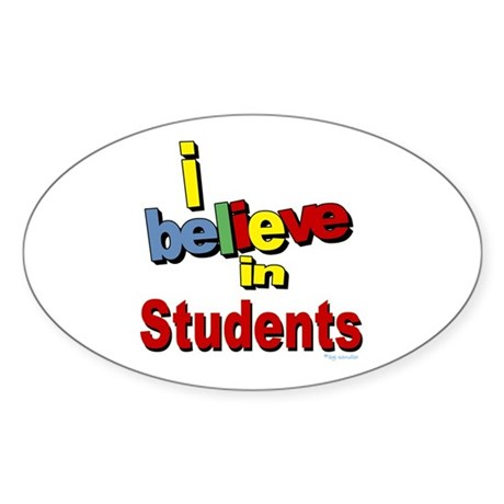 ... teachers Oval Sticker