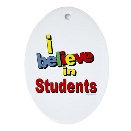 ... teachers Oval Ornament