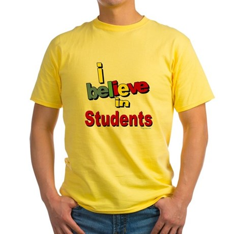 ... teachers Yellow T-Shirt