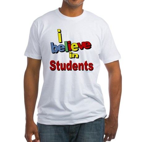 ... teachers Fitted T-Shirt