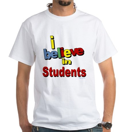 ... teachers White T-Shirt