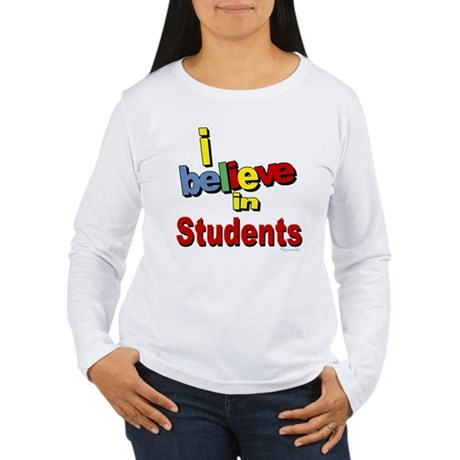 ... teachers Women's Long Sleeve T-Shirt