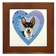 rat-heart Framed Tile
