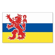 Limburg Rectangle Stickers