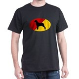 German Flag Rottie T-Shirt