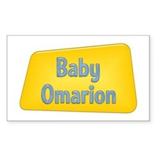 Baby Omarion Rectangle Decal