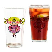 Lola May Drinking Glass