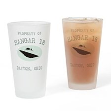 Hangar 18 Drinking Glass