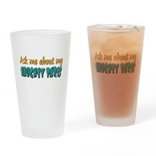Naughty Parts Drinking Glass