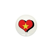 I Love Vietnam Mini Button (100 pack)