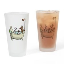Rub a Dub Tub Drinking Glass