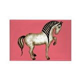 Tang Horse #3 Rectangle Magnet (10 pack)