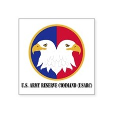 "U.S. Army Reserve Command Square Sticker 3"" x 3"""